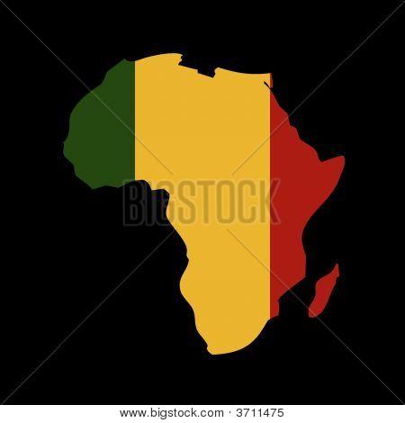 Rasta Colours In Africa