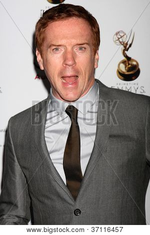 LOS ANGELES - SEP 21:  Damian Lewis arrives at the Primetime Emmys Performers Nominee Reception at Spectra by Wolfgang Puck on September 21, 2012 in Los Angeles, CA