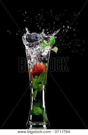 Soft Drink Splash