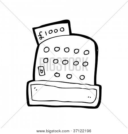 Caja registradora dibujo - Imagui