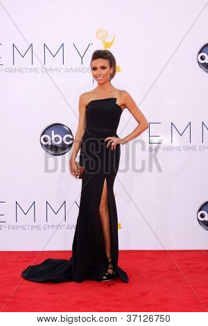 LOS ANGELES - SEP 23:  Giuliana Rancic arrives at the 2012 Emmy Awards at Nokia Theater on September 23, 2012 in Los Angeles, CA
