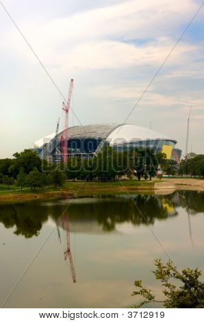 The New Dallas Cowboys Stadium In Arlington, Texas