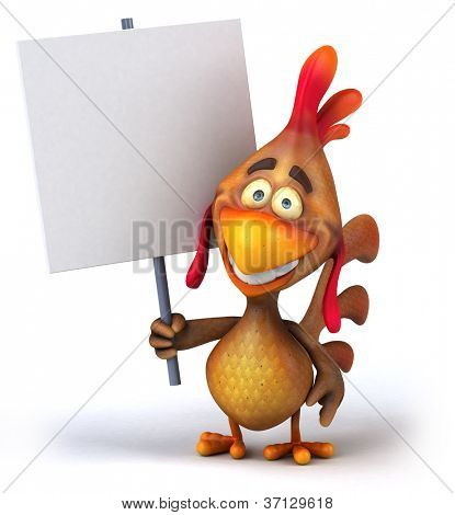 Spaß Huhn