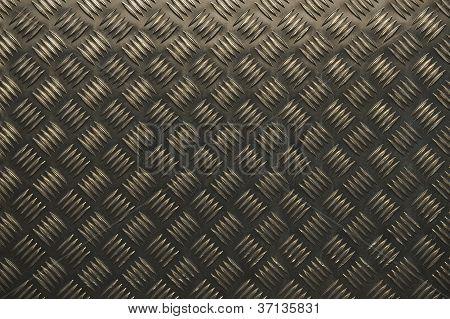 checkered aluminum metal texture