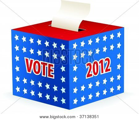 illustrated image of a ballot box