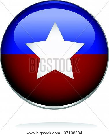 illustration of a badge with star shape