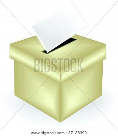 illustration of a ballot box