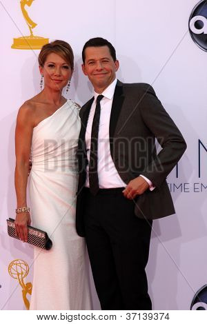 LOS ANGELES - SEP 23:  Jon Cryer arrives at the 2012 Emmy Awards at Nokia Theater on September 23, 2012 in Los Angeles, CA