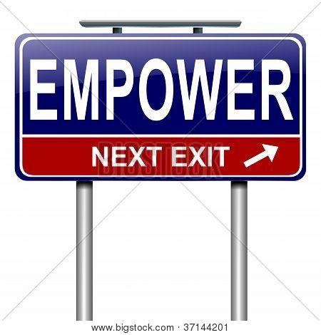 Empower Concept.