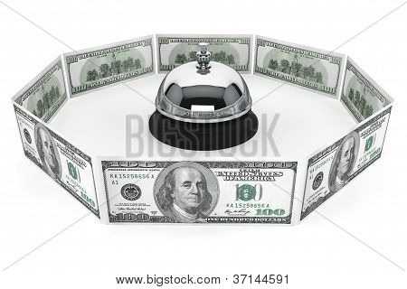 Dollars And Service Bell