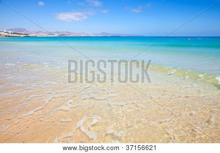Fuerteventura,  Playa De Sotavento On Jandia Peninsula