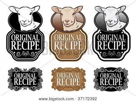 Original Recipe Lamb version vertical seal