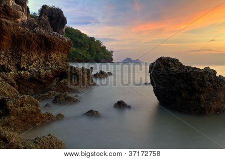Ao Nang beach,Krabi,Thailand
