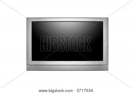 große lcd oder Plasma tv an der Wand hängen