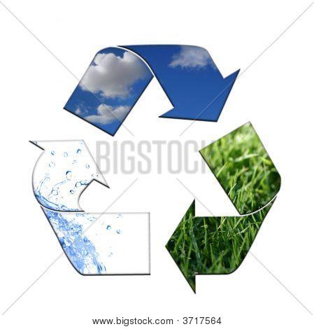 Manter o ambiente limpo com reciclagem