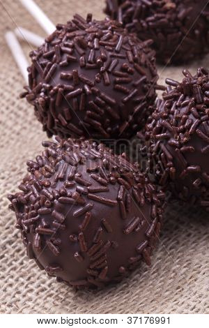 chocolate cakepops