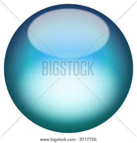 Glassy 3D Button