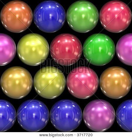 Glassy 3D Balls