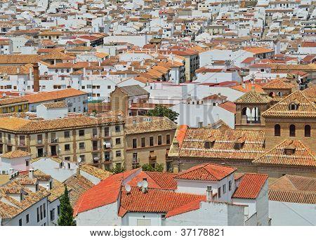 Spanish White Town Antequera