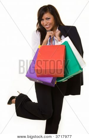 Business Woman Shopping