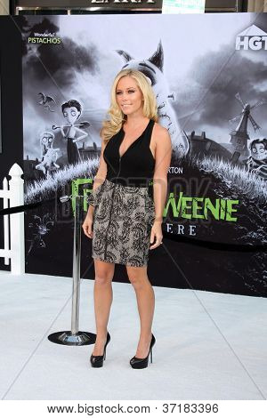 "LOS ANGELES - SEP 24:  Kendra Wilkinson arrives at the ""Frankenweenie"" Premiere at El Capitan Theater on September 24, 2012 in Los Angeles, CA"