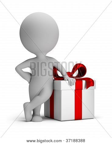 3D Small People - Your Gift