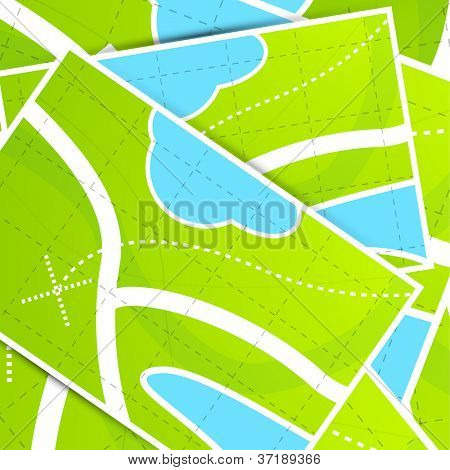 Map background pattern
