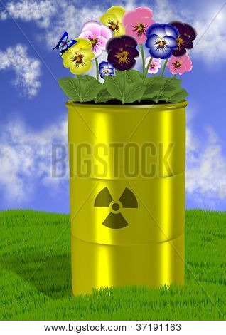 Radioactive Waste And Environment