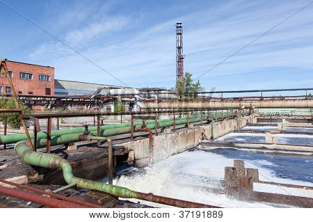 Water Treatment Factory Common View