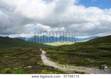 Peaceful West Highland Way