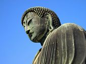 stock photo of kanto  - Detail of the Giant buddha statue  - JPG
