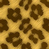 image of ocelot  - A leopard print texture that tiles seamlessly as a pattern in any direction - JPG