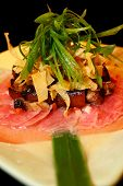 image of wanton  - an appetizer of tuna - JPG