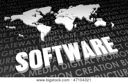 Software Industry Global Standard on 3D Map