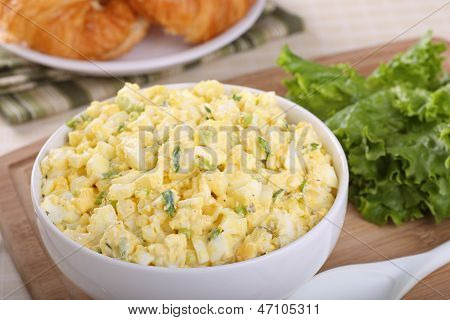 Egg Salad In A Bowl