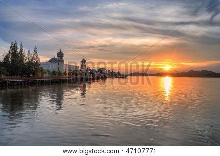 Sunset in Terengganu, Malaysia