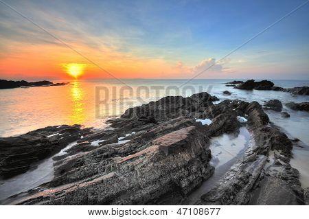 Sunrise at Terengganu, Malaysia