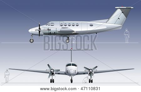 Vector civil utility aircraft