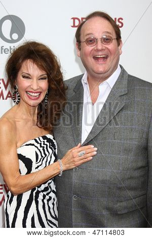 "LOS ANGELES - JUN 17:  Susan Lucci, Marc Cherry arrives at the ""Devious Maids""  Lifetime's Original Series Premiere at the Bel-Air Bay Club on June 17, 2013 in Pacific Palisades, CA"
