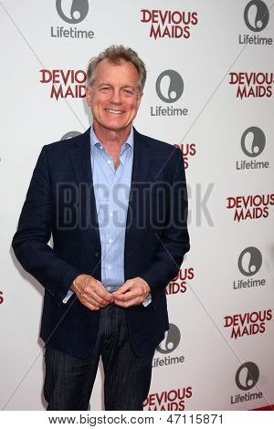 "LOS ANGELES - JUN 17:  Stephen Collins arrives at the ""Devious Maids""  Lifetime's Original Series Premiere at the Bel-Air Bay Club on June 17, 2013 in Pacific Palisades, CA"