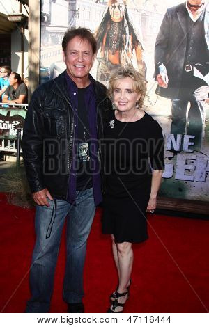LOS ANGELES - JUN 22:  Rick Dees, Julia Dees arrives at the World Premiere of