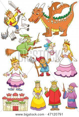 funny fairy set.