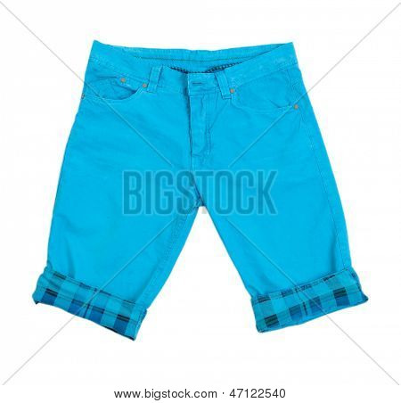 Men's shorts isolated on white