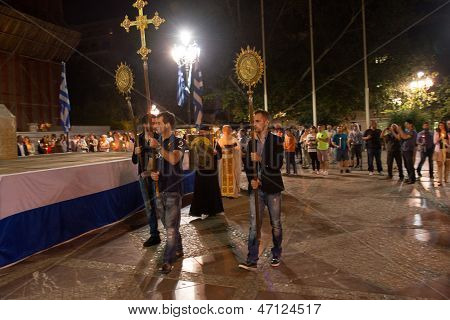 Easter ceremony in Athens.