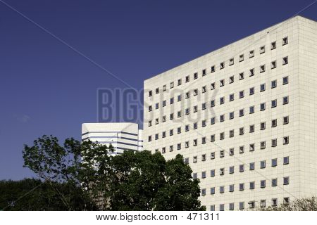 Houston Courthouse - Side View