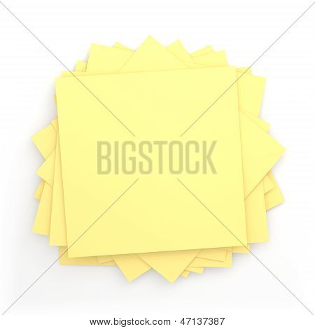 Pile Of Sticky Note