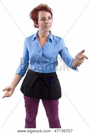 Angry Waitress