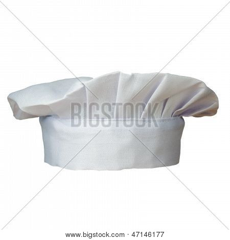 Cook Hat Isolated On White