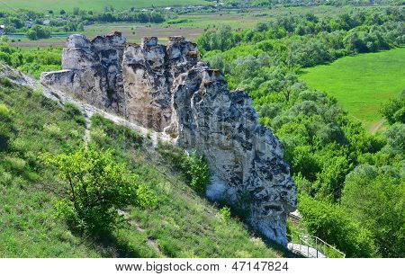 Cretaceous outcrops