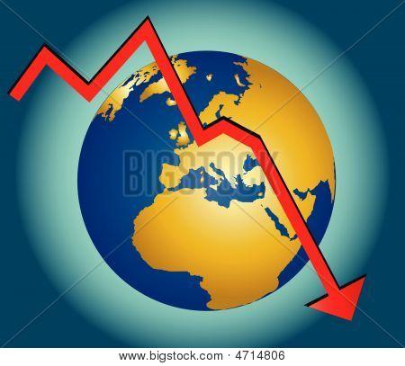 Mundo en recesión